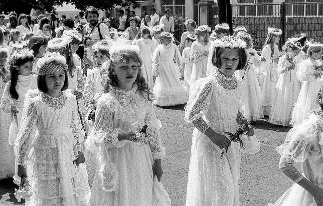 Historia mody komunijnej