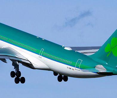 Irlandzkie linie lotnicze Aer Lingus zawieszają połączenia z Warszawą