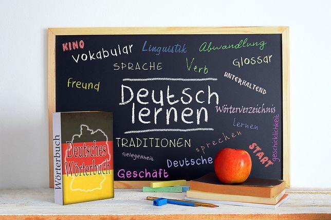 Język niemiecki jest jednym z języków nowożytnych do wyboru na maturze
