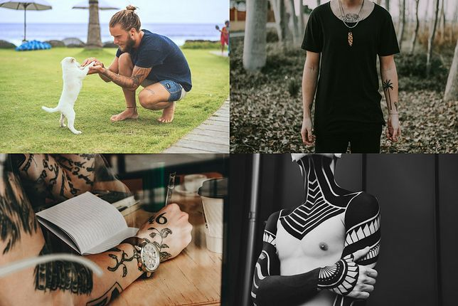Męskie wzory tatuaży na rękę