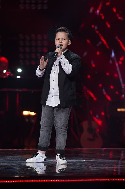 "The Voice Kids: Paweł Szymański w utworze ""I Have Nothing"" Whitney Houston"