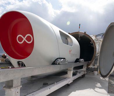 Hyperloop. Pierwsza jazda testowa zakończona sukcesem