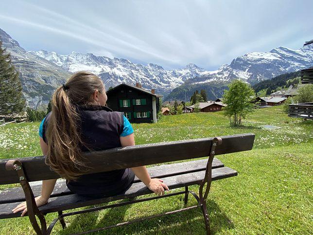 Wioska Mürren, Szwajcaria