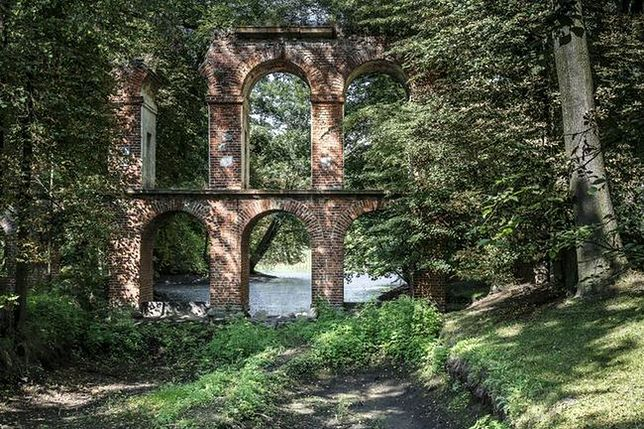Ogród angielski w Arkadii