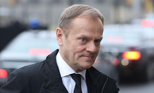 Donald Tusk złożył gratulacje Macronowi