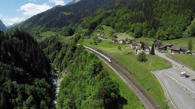Tunel kolejowy Gotarda, Szwajcaria