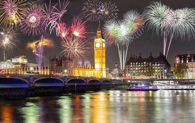 Pokaz fajerwerków w stolicy Wielkiej Brytanii zapiera dech w piersiach