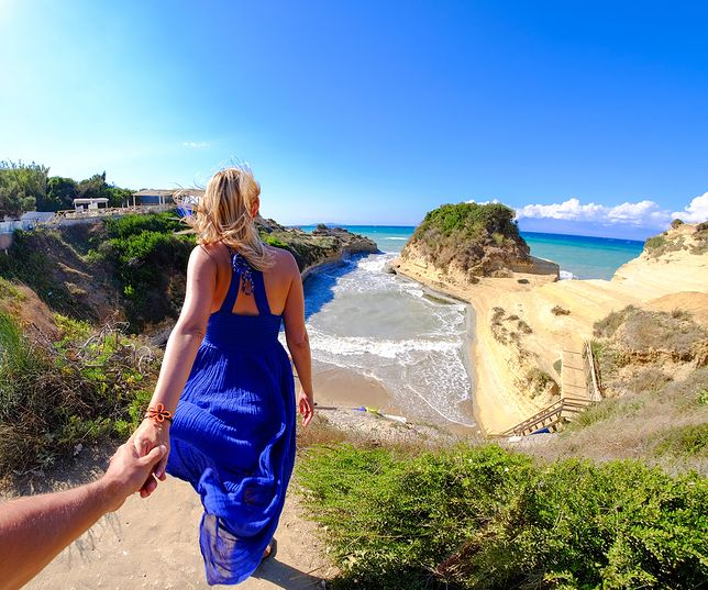 Korfu to idealne miejsce na romantyczny wypad we dwoje