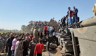 Katastrofa w Egipcie. Zderzyły się pociągi, nie żyje ponad 30 osób