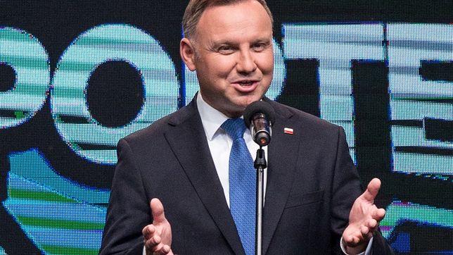 Andrzej Duda ogląda zagraniczne seriale.