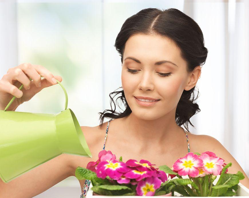 Nie podlewaj kwiatów zbyt często