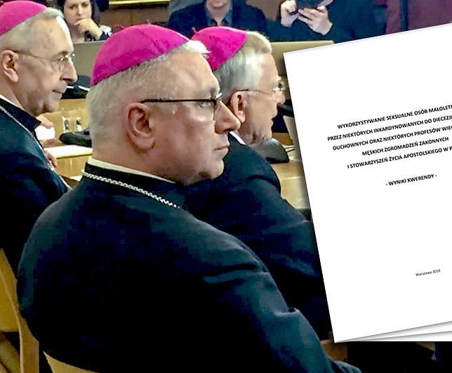 """Twórcy raportu zwracają uwagę na """"różnice w rzetelności"""" wypełnionych ankiet w poszczególnych diecezjach"""