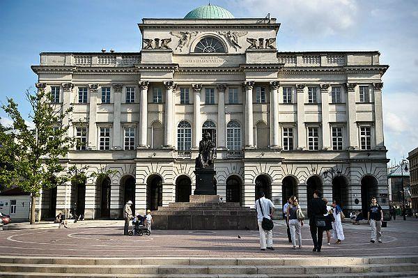 Pałac Staszica, siedziba Polskiej Akademii Nauk w Warszawie