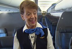 Najstarsza stewardessa na świecie. Bette Nash ma 80 lat i nadal lata