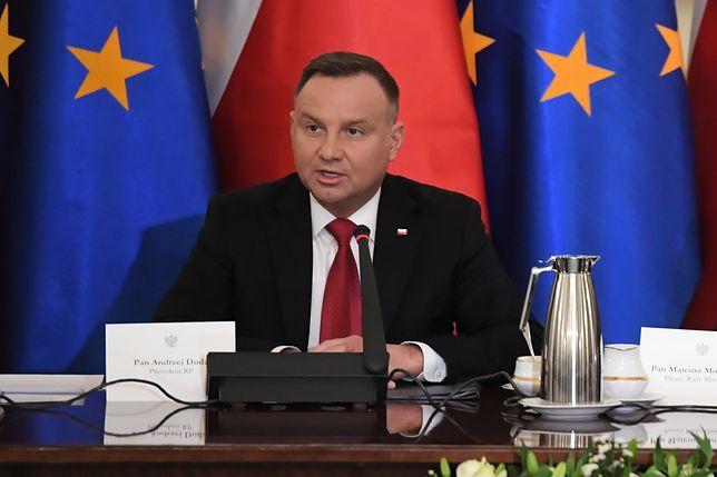 Prezydent Andrzej Duda zapowiedział, że nie pojedzie do Jerozolimy