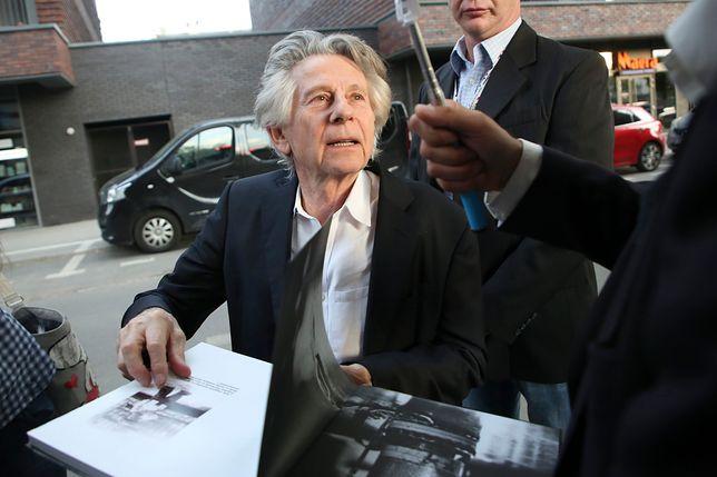 Roman Polański w Krakowie, maj 2018 r.