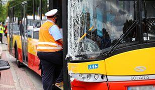 Warszawa. Wypadek autobusu. Są pierwsze wyniki testów kierowców autobusów