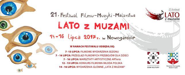 Rusza nabór filmów do Konkurs FILMOWA MŁODA POLSKA na Festiwalu LATO Z MUZAMI w Nowogardzie