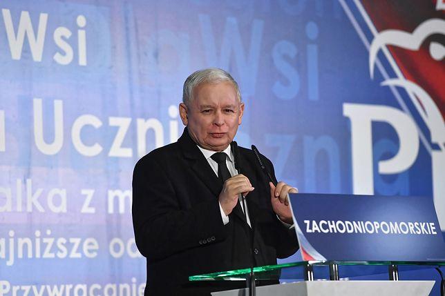 """Jarosław Kaczyński na konwencji PiS w Gdańsku: mój brat miał znaczący udział w powstaniu """"Solidarności"""""""