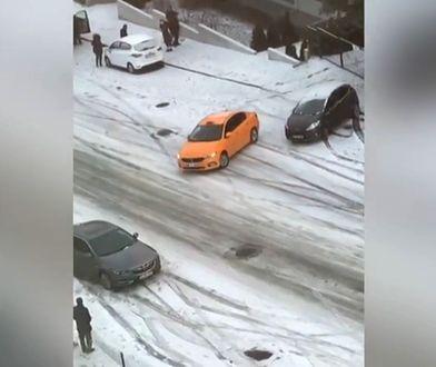 Turcja. Samochody ślizgały się na ulicach Ankary