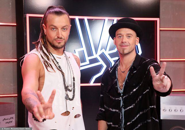 Baron i Tomson: jurorzy programu The Voice of Poland (fot. East News)