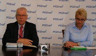 Piotr Snuszka i Violetta Wabińska-Chmielewska.
