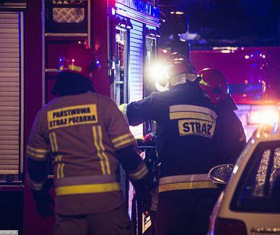 Lidzbark Warmiński. Tragiczny pożar mieszkania, strażacy znaleźli zwęglone szczątki