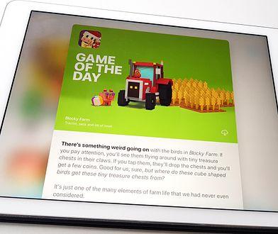 """Polską produkcję doceniło nawet Apple, wyróżniając ją w sekcji """"Najlepsza gra dnia"""""""