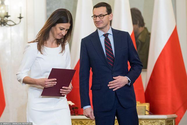 Była minister sportu została pełnomocnikiem Mateusza Morawieckiego