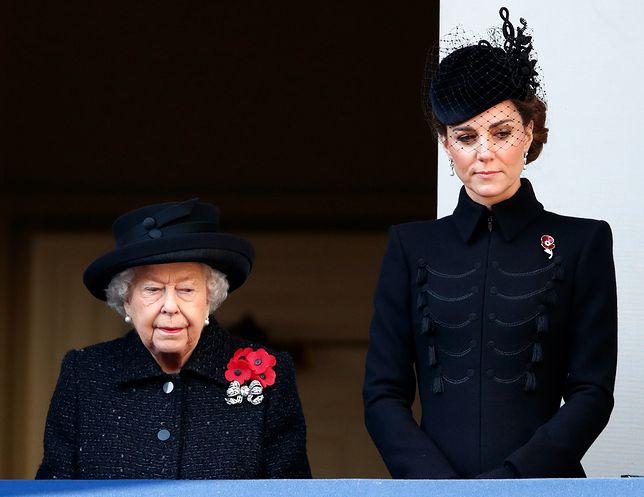 Kate Middleton i królowa Elżbieta II