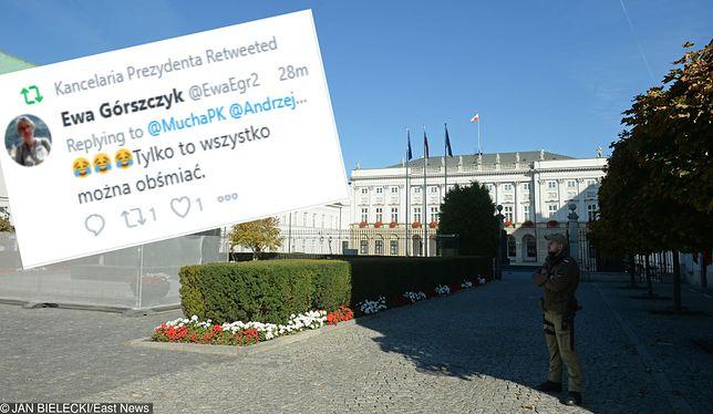 Kontrowersyjny wpis na profilu Kancelarii Prezydenta