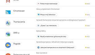 Asystent Google w Polsce. Zobacz pełną listę zewnętrznych aplikacji oraz usług