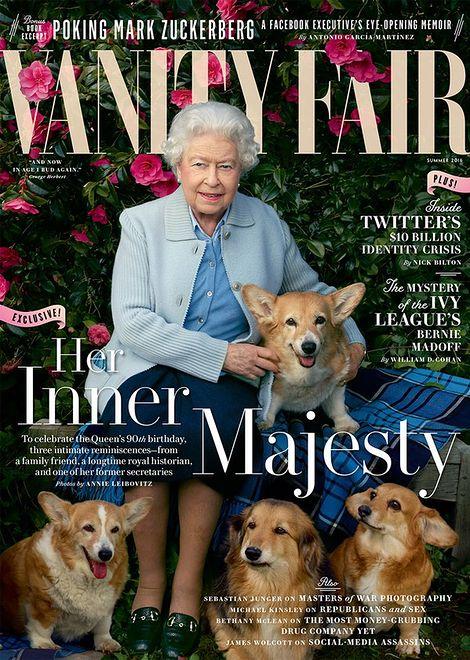 Królowa Elżbieta II przed obiektywem Annie Leibovitz