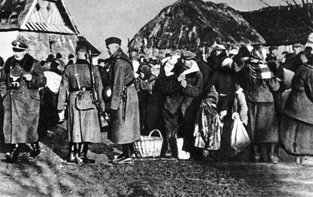 """Szaleństwo """"Aktion Zamość"""" - wysiedlenia Polaków z Zamojszczyzny"""