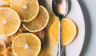 Aromatyczny schab w cytrynach