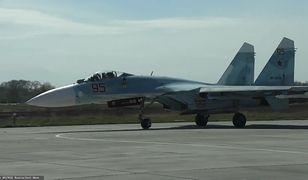 Rosyjski myśliwiec Su-27