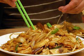Chow mein z warzywami (bez mięsa i makaronu)