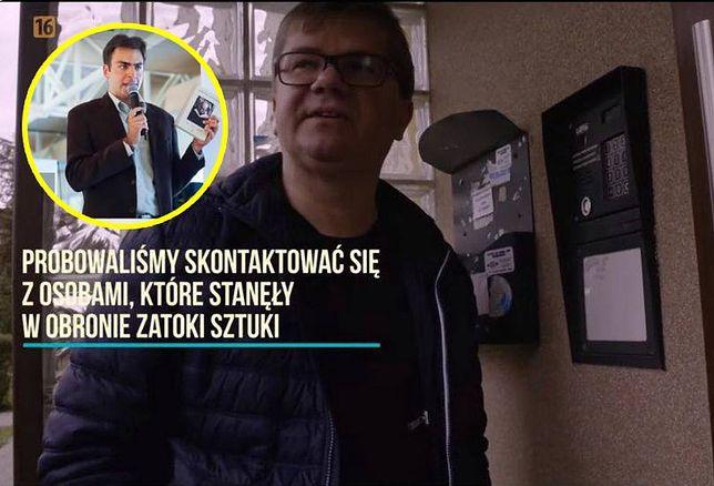 Sylwester Latkowski zadzwonił do mieszkania Przemysława Szalińskiego, przedstawił się i poprosił o wpuszczenie. Szaliński odłożył słuchawkę