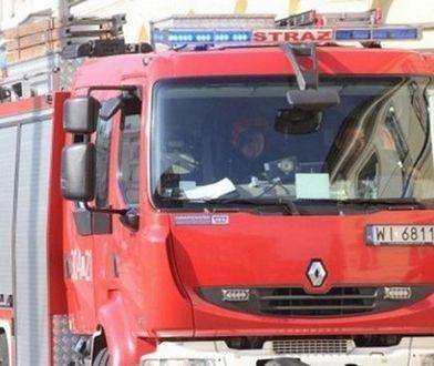 Praga Południe: płonie dom jednorodzinny. Trwa akcja straży pożarnej