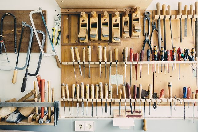 Istnieją lepsze sposoby na przechowywanie narzędzi