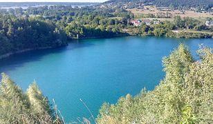 Widok na Jezioro Turkusowe w Wapnicy