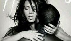 Kim Kardashian pozuje nago w ciąży
