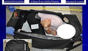 Polak zamknął w walizce brytyjską modelkę. Planował ją sprzedać