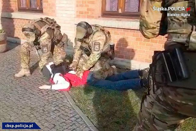 Policjanci zatrzymali 29-letniego Mateusza H. podejrzewanego o wysadzenie bloku w Bielsku-Białej