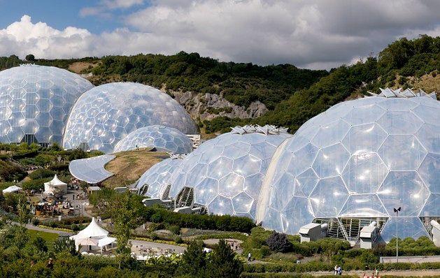 Eden Project, Kornwalia, Wielka Brytania