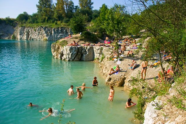 Zalew Zakrzówek - zakazane rajskie miejsce