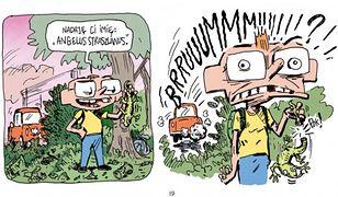 """""""W tajemniczym, ciemnym lesie"""" – recenzja komiksu wydawnictwa Kultura Gniewu"""