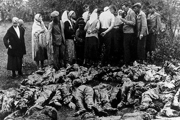 Ujawnienie masowych grobów w Katyniu w kwietniu 1943 roku