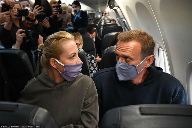 Aleksiej Nawalny usłyszał wyrok. Jego żona zabrała głos