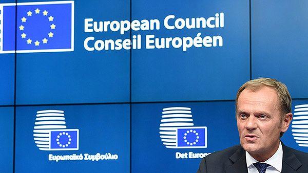 Donald Tusk tuż po wyborze na przewodniczącego Rady Europejskiej